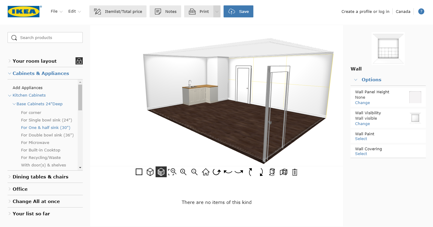IKEA Planning Tools For Virtual Staging