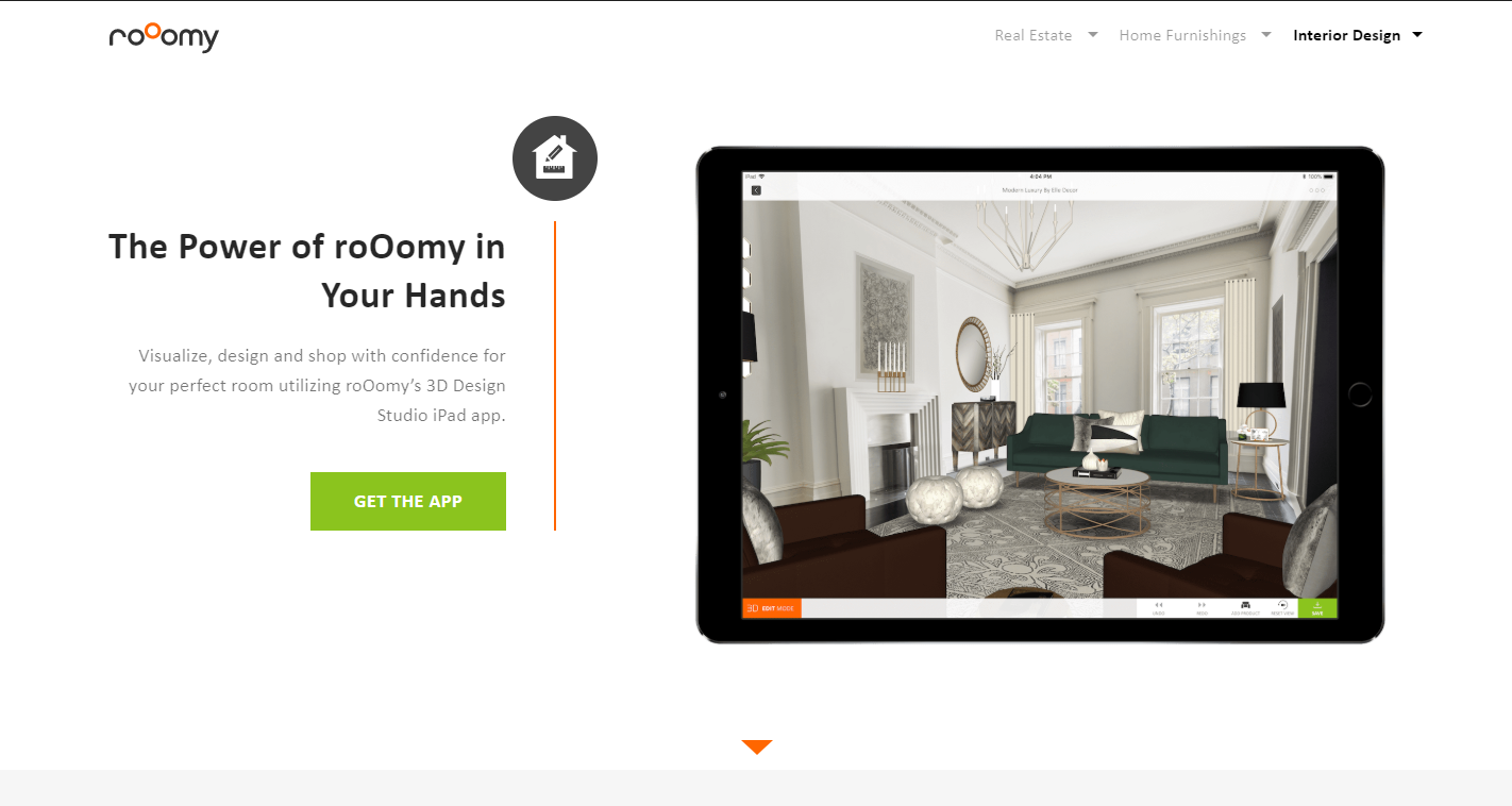 RoOomy Virtual Staging App