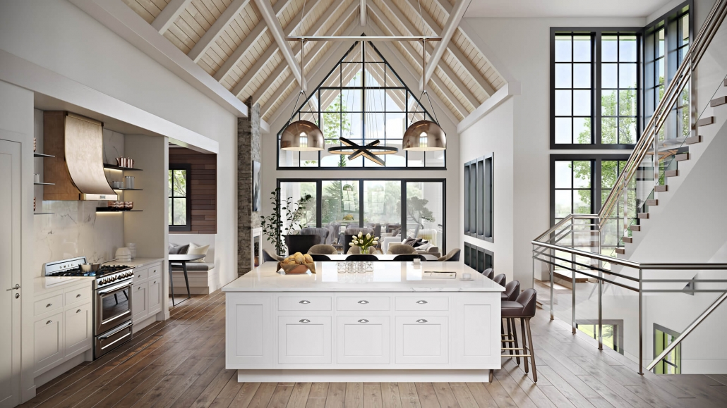 Virtual Staging for a Luxury Kithcen Design