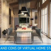 Virtual Staging for a Dining Room