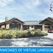Real Estate Lanscape Made with Virtual Staging