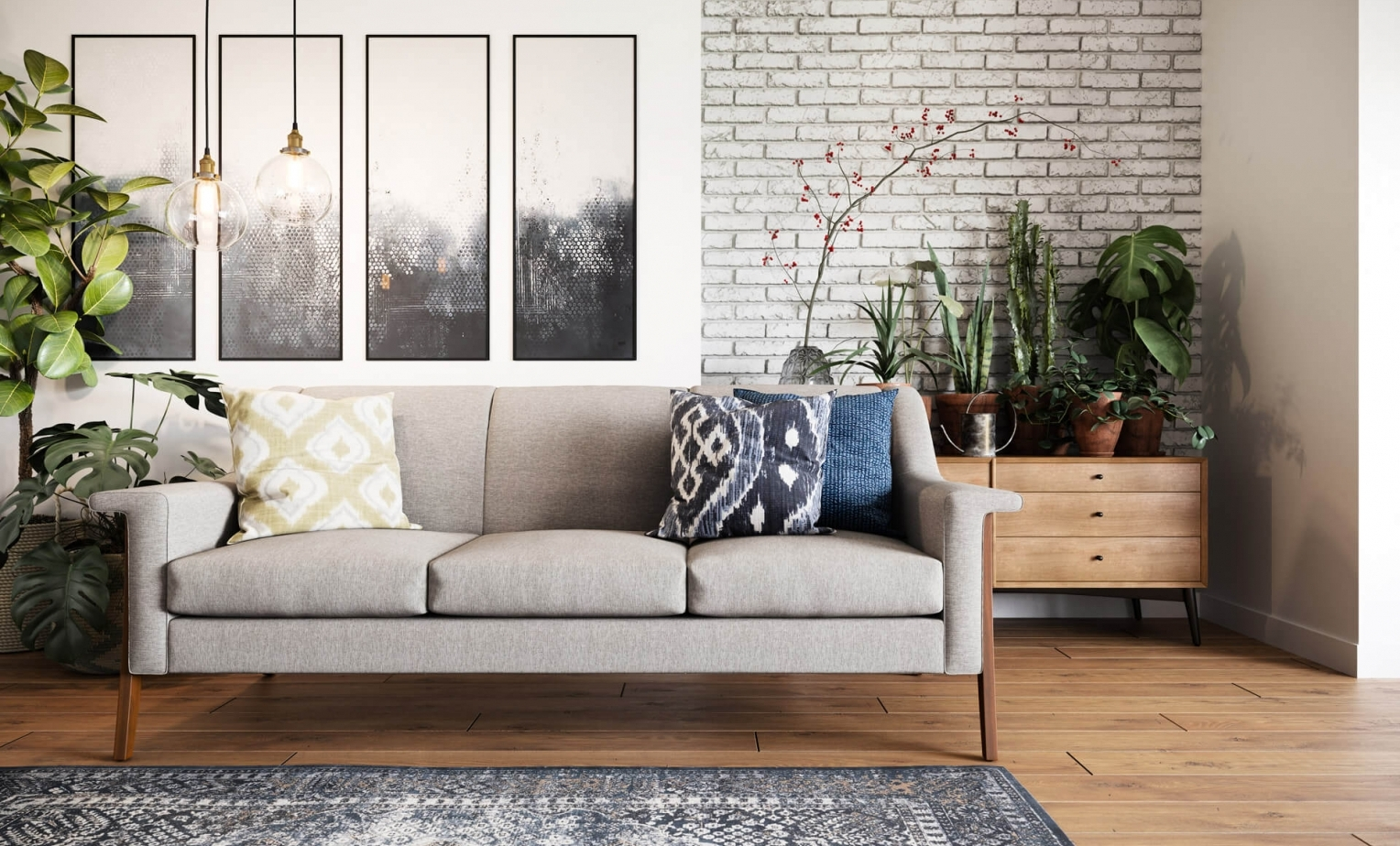 Photorealistic 3D Rendering for a Real Estate Interior