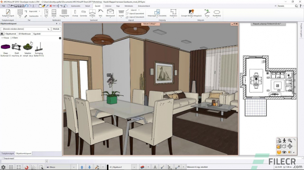 ARCHLine XP Virtual Stager for Real Estate Business
