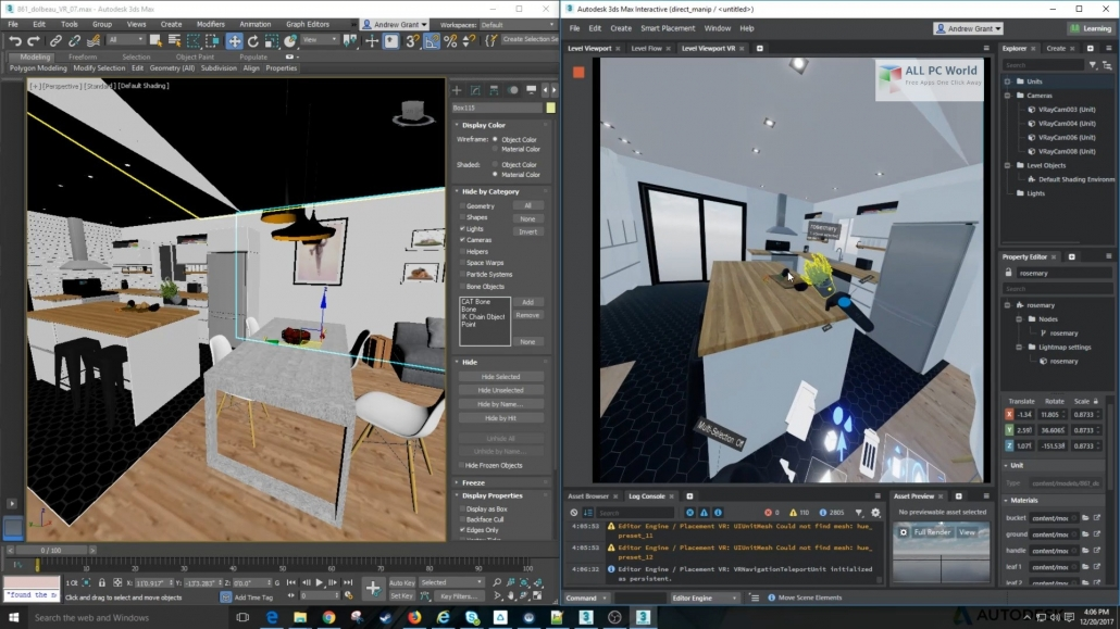 3ds Max Software for Virtual Staging