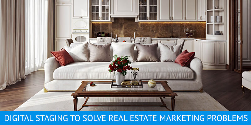 Virtual Staging for a Classic Living Room