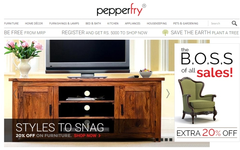 Pepperfry for Furniture Virtual Staging