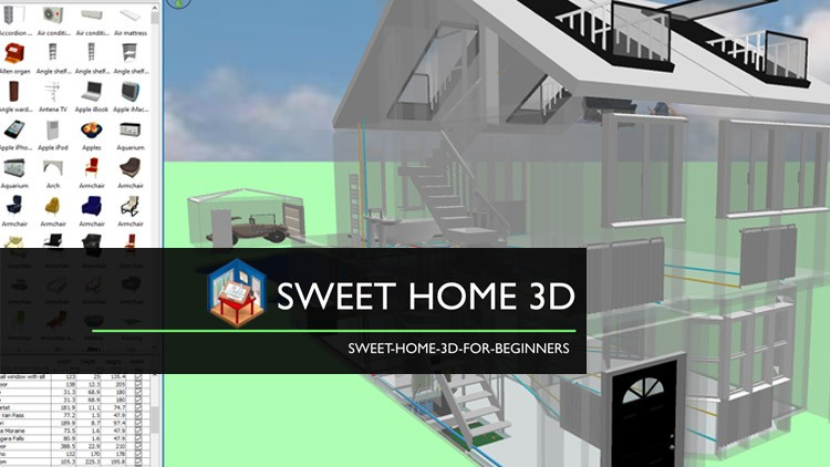 Sweet Home 3D for Digital Staging