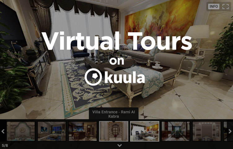 Kuula for Virtual Tours