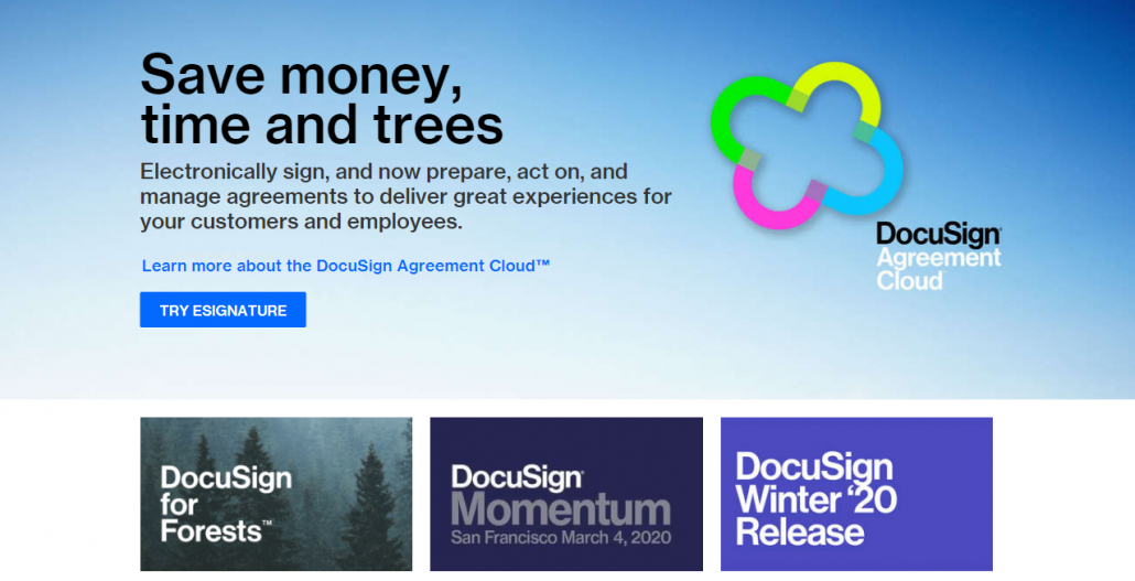 DocuSign Real Estate Lisitngs