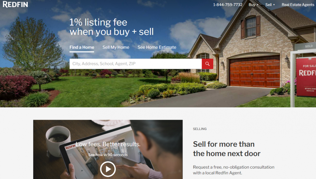 Redfin Real Estate Marketing