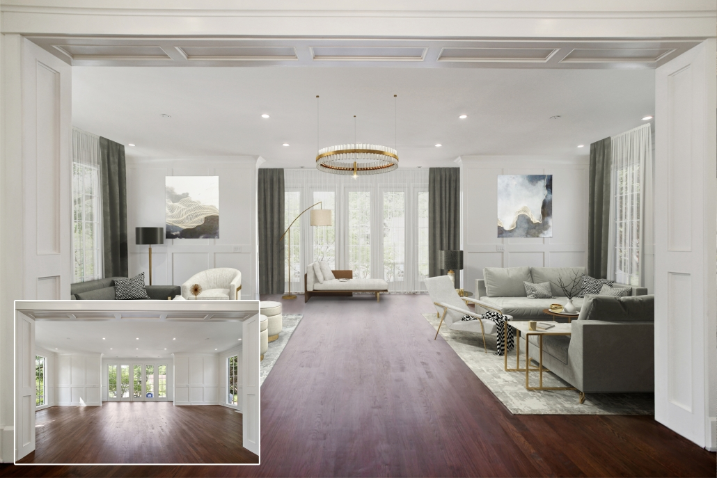 Virtual Staging for a Big House