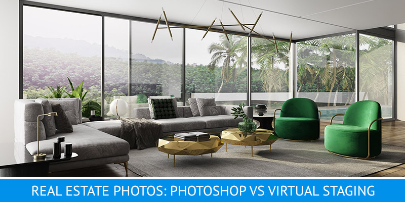 Photos of Real Estate Living Room Interiors