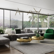 Photos of a Real Estate Living Room