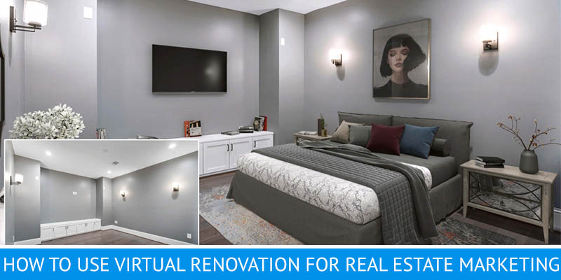 Virtual Renovation: Removing Old Furniture and Restyling the Room