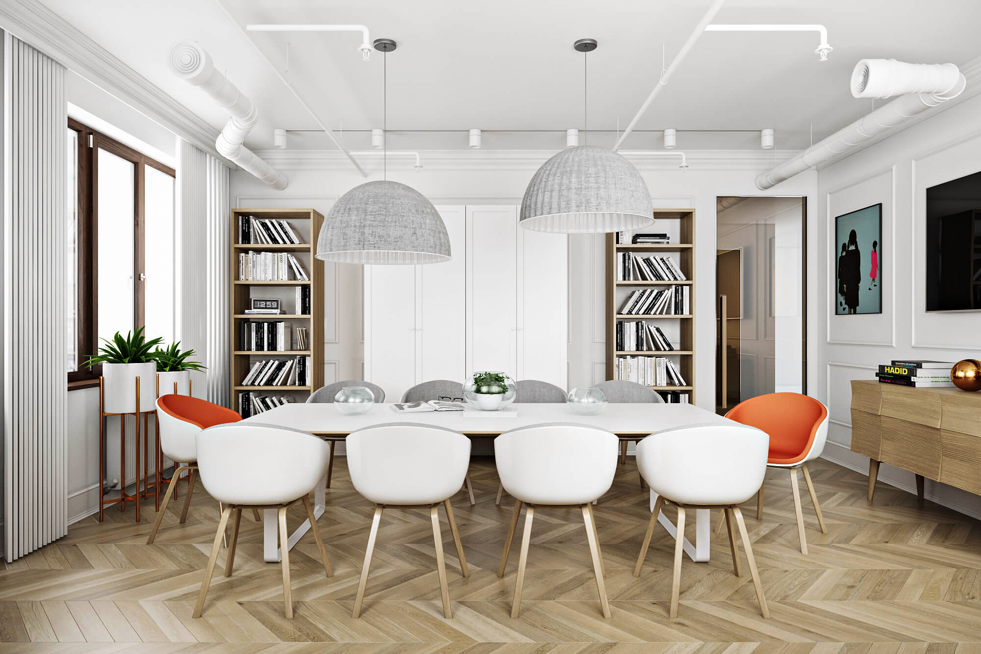 A Virtually Remodeled Dining Room