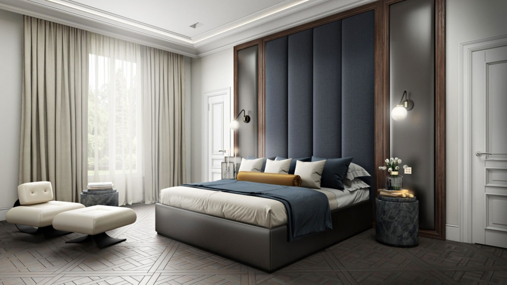 Bedroom Diftal Staging