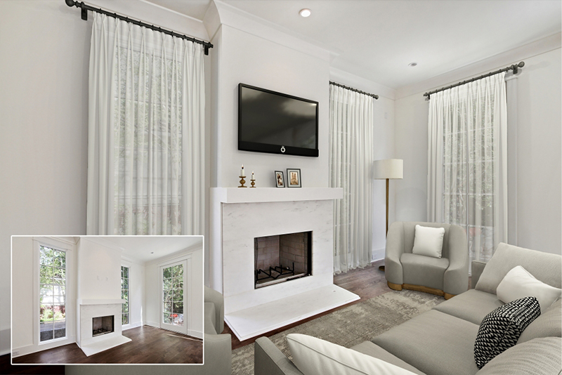 style selection for virtual staging