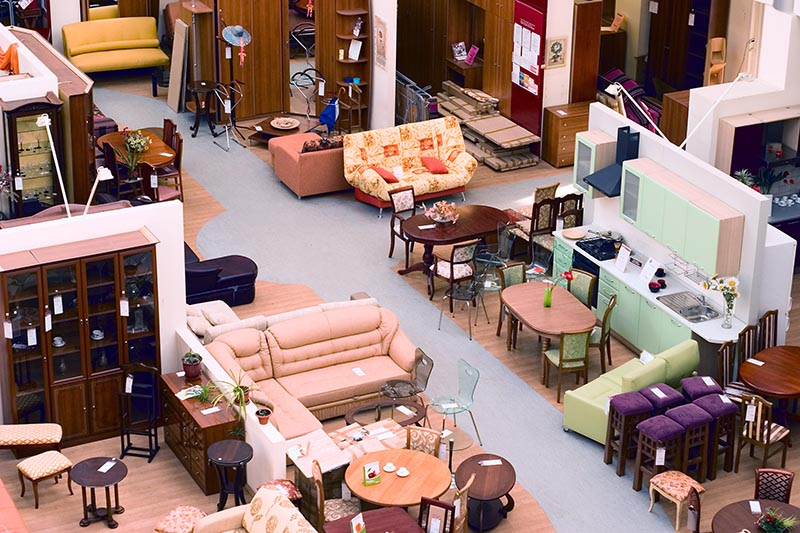 A Furniture Shop Selling Furniture for House Staging