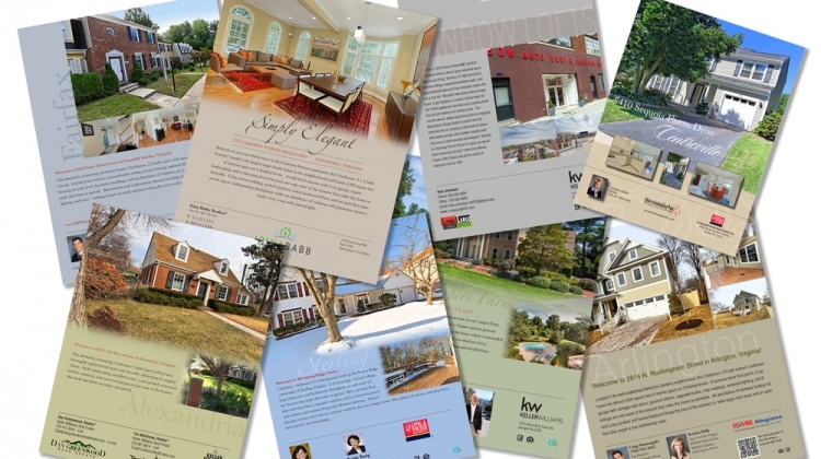 Promo items for real estate: Brochures