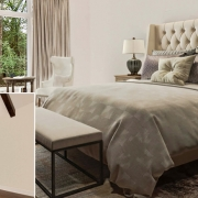Virtual Staging of a Serene Bedroom