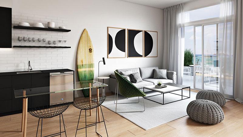 Photo of a Stylish Minimalist Home