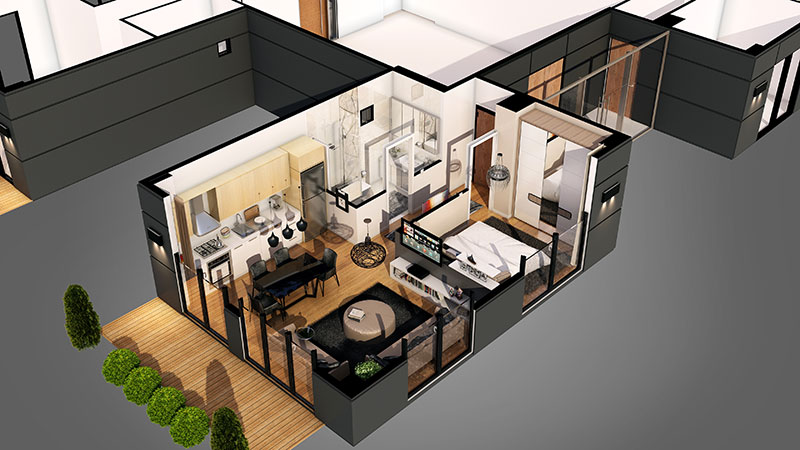 Using Virtual Staging for Floor Plans to Personalize the Listing