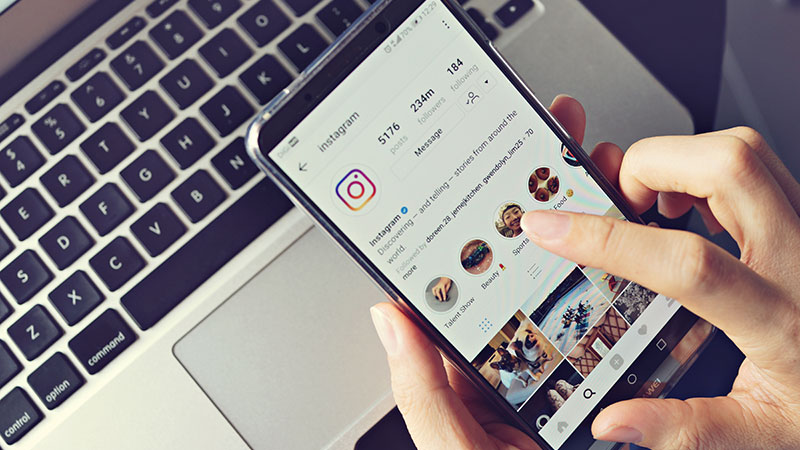 A Real Estate Agent Using Instagram for Their Business
