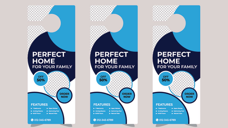 Door Hangers as One of the Guerilla Marketing Tools for Real Estate Business