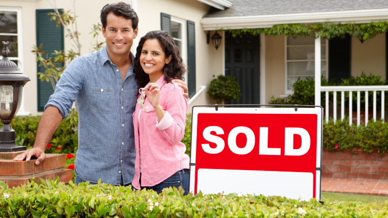 A Photo of Happy Clients that Real Estate Agents can Use for Success Stories in Email Marketing