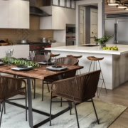 CGI of Modern Kitchen Ready to Be Used for Real Estate Listings